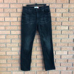 Cabi High Straight Black Jeans
